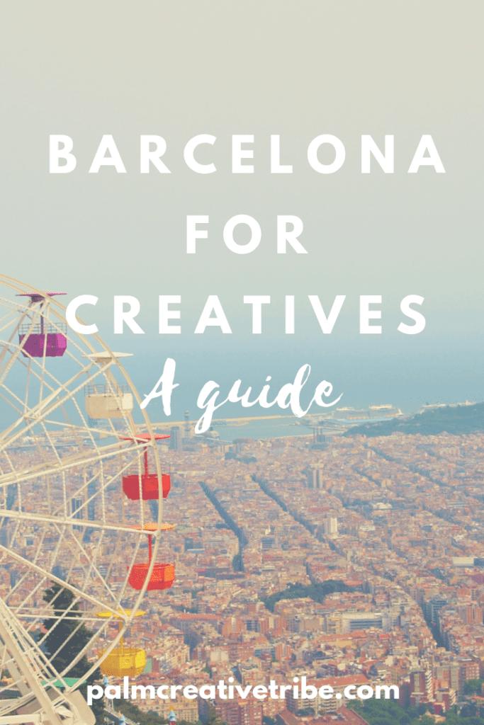 Barcelona for creatives