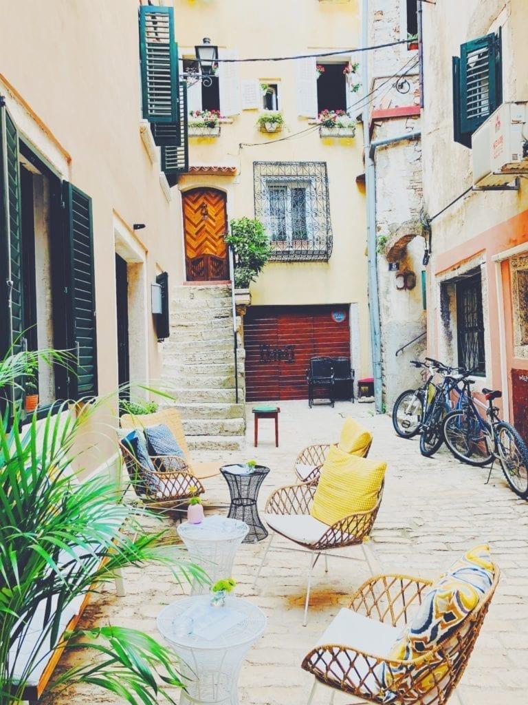 Croatian Courtyard
