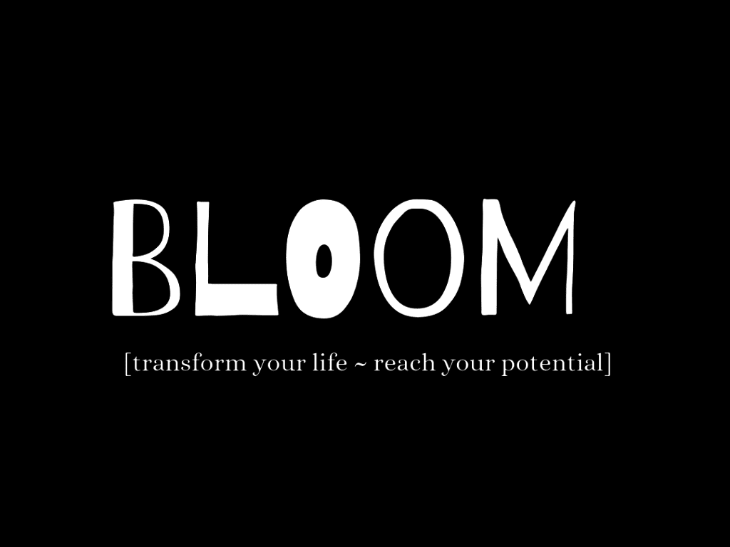 Bloom One to One Coaching Package Brand Image