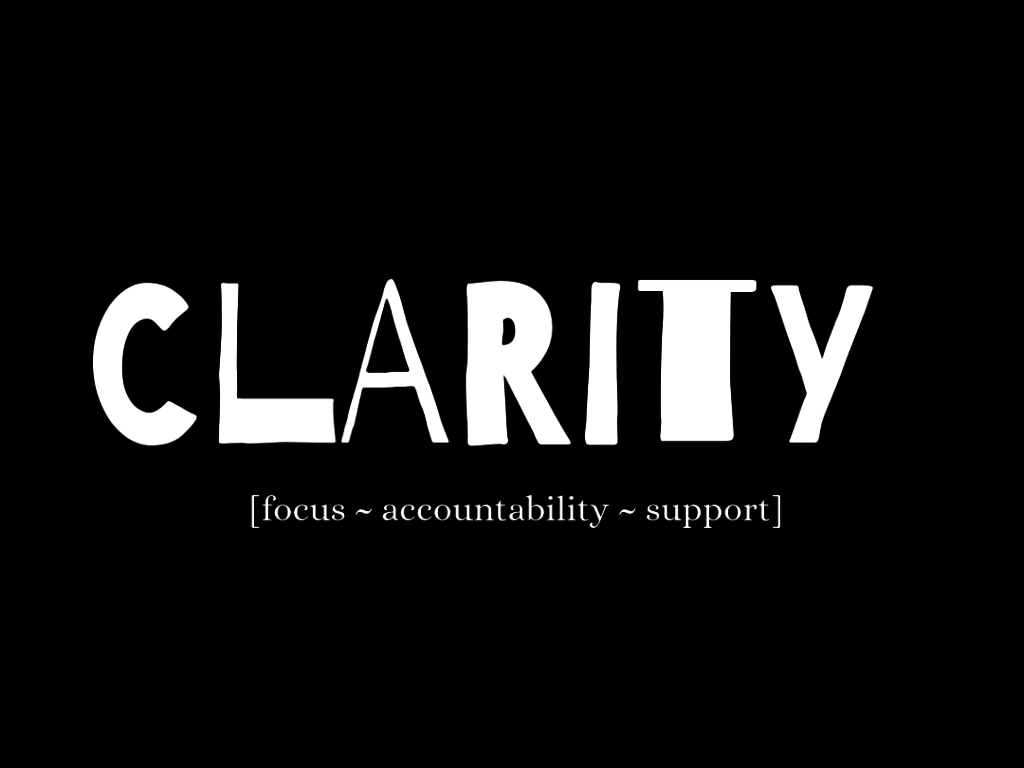 Clarity One to One Creative Business Coaching and Accountability Brand Package Image